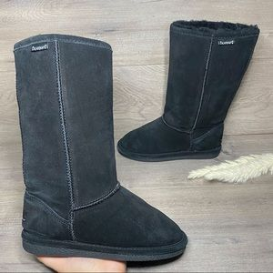 BearPaw Cloud Black Boots